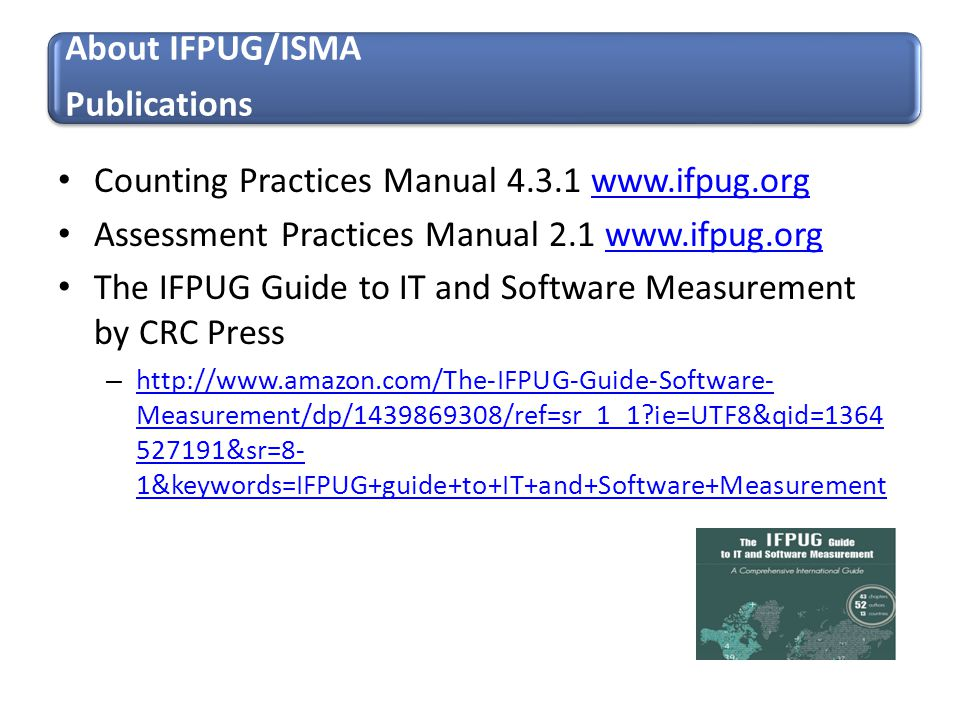 Counting Practices Manual 4.3.1 www.ifpug.org