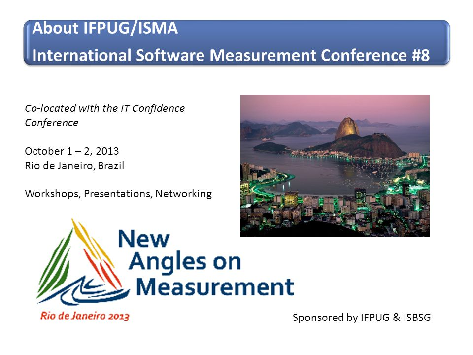 International Software Measurement Conference #8