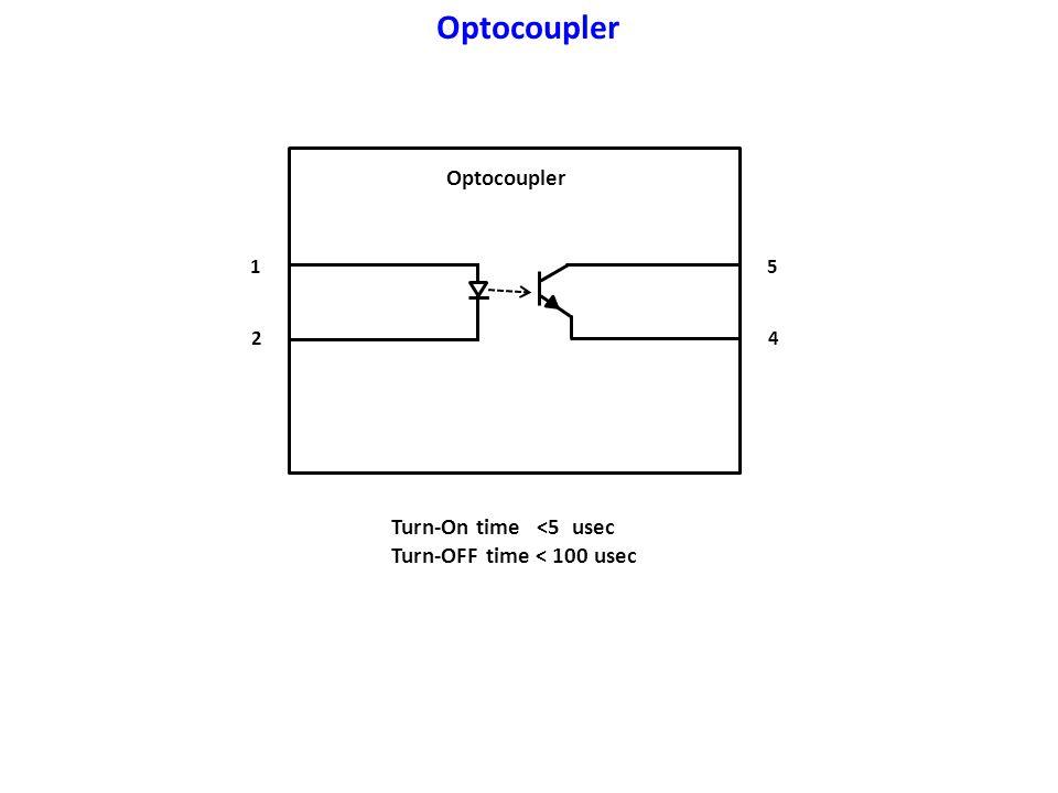 Optocoupler Optocoupler Turn-On time <5 usec