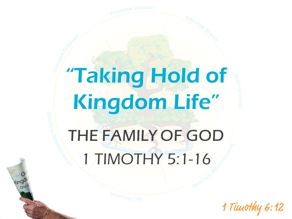 Taking Hold of Kingdom Life