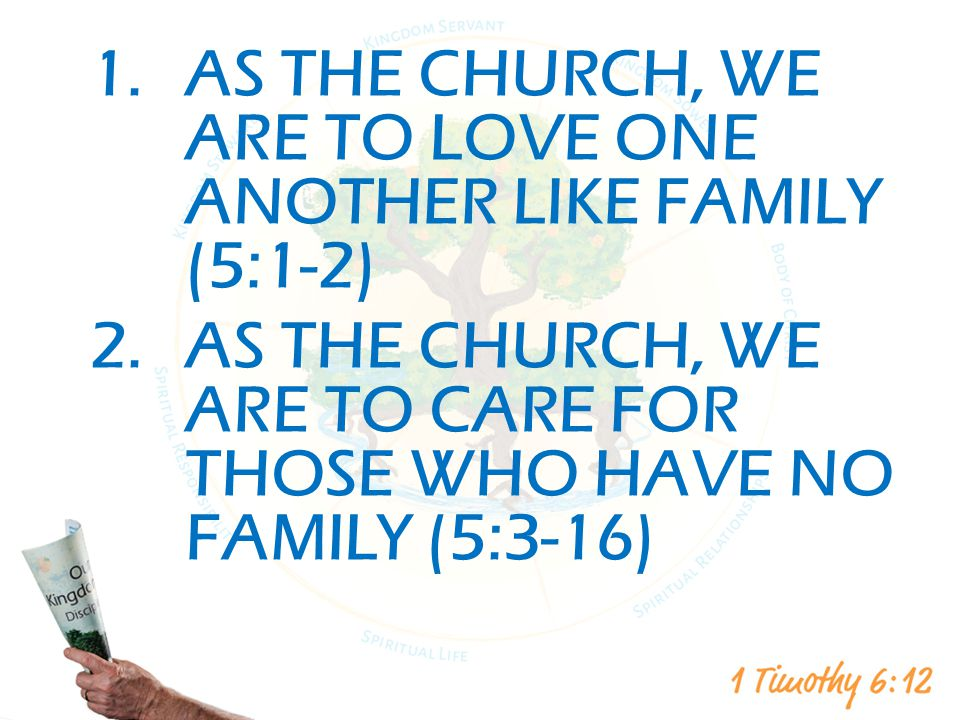 As the Church, We are to Love One Another like Family (5:1-2)