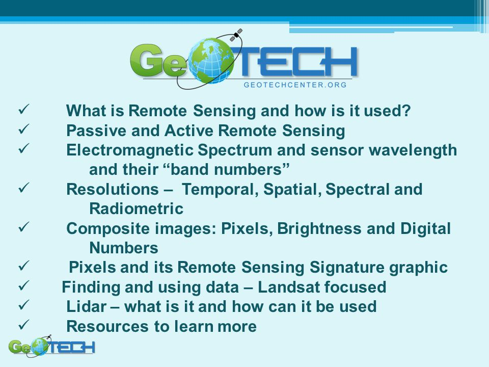 What is Remote Sensing and how is it used