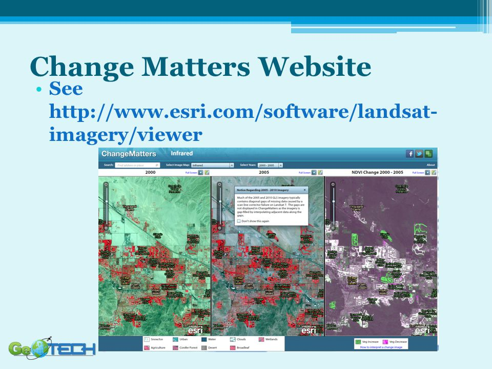 Change Matters Website