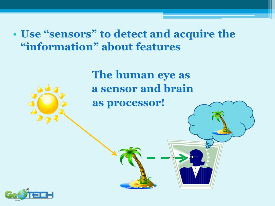 Use sensors to detect and acquire the information about features