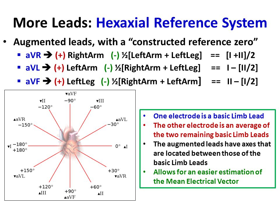 More Leads: Hexaxial Reference System