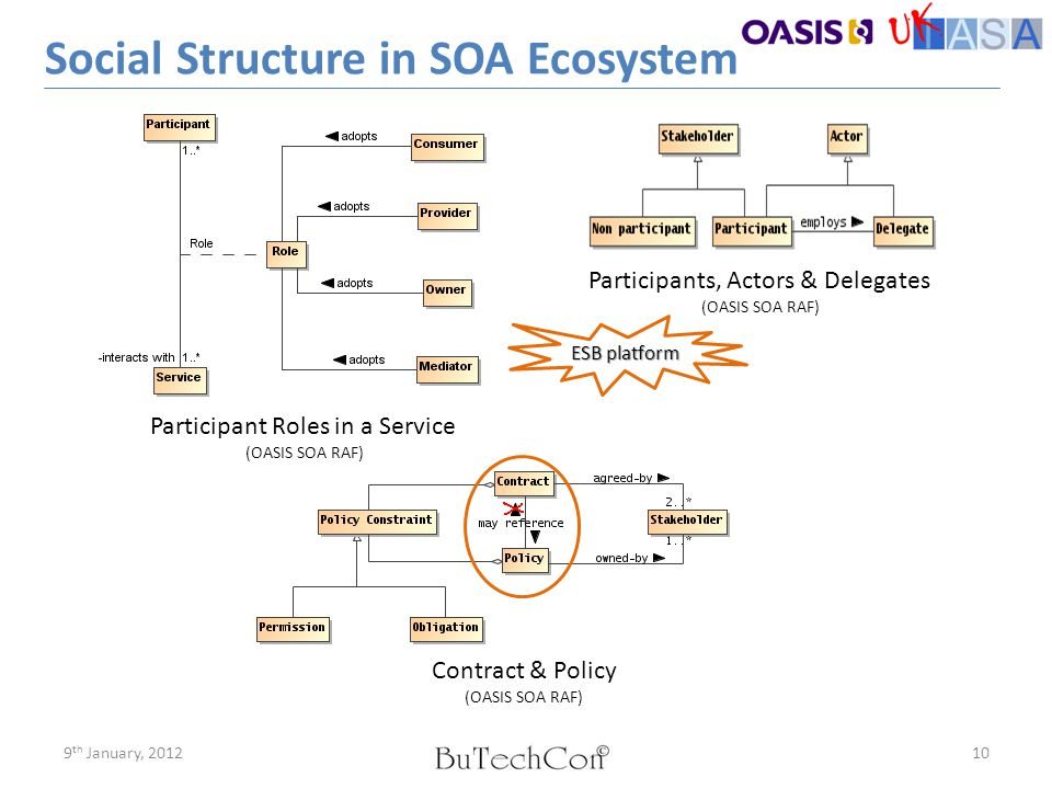 Social Structure in SOA Ecosystem