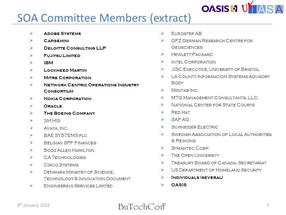 SOA Committee Members (extract)