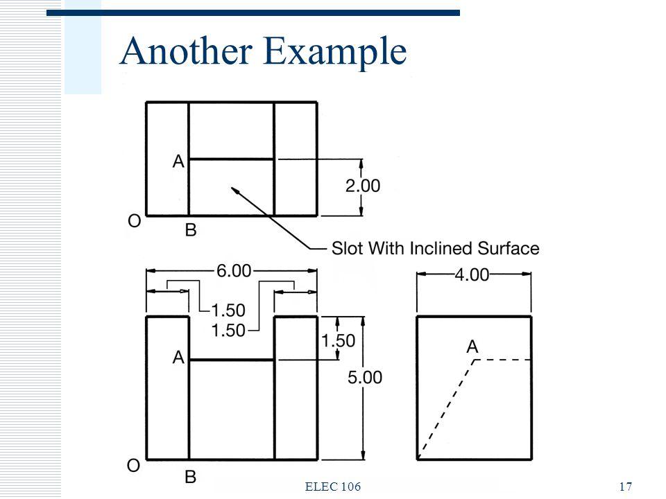 Another Example ELEC 106 ELEC 106