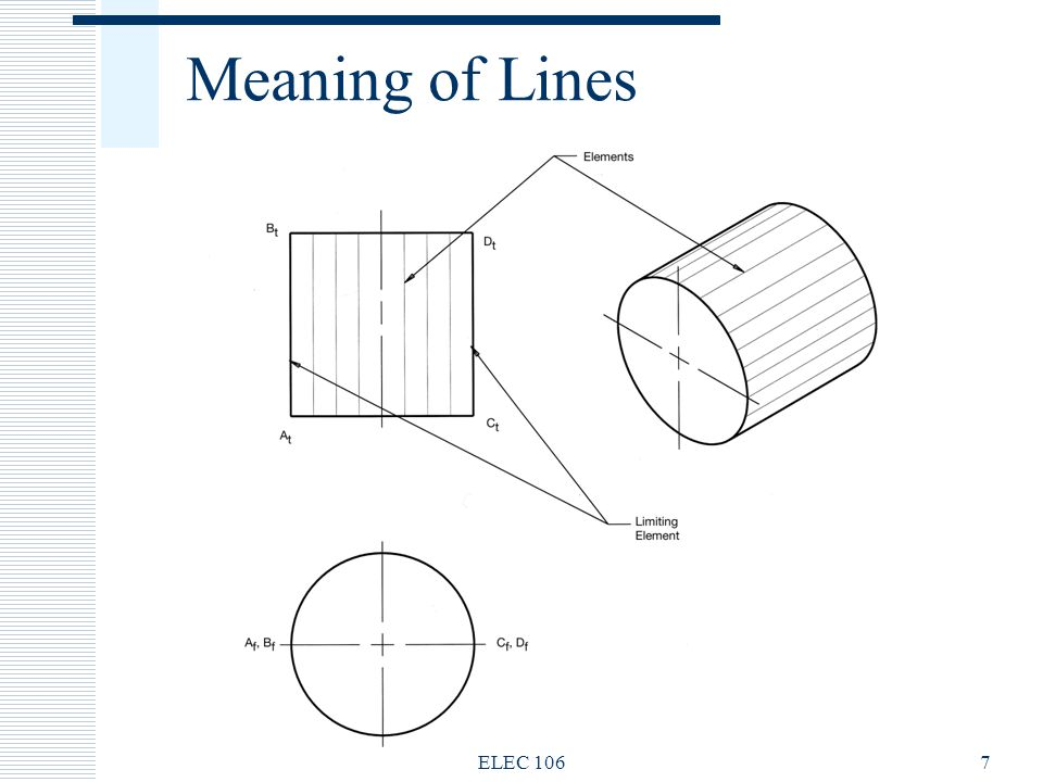 Drawing Smooth Lines Meaning : Engineering drawing elec fundamentals of electrical