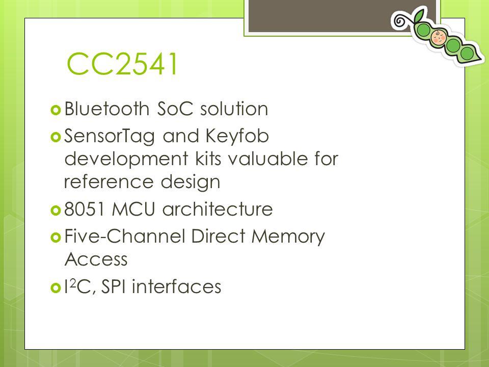 CC2541 Bluetooth SoC solution