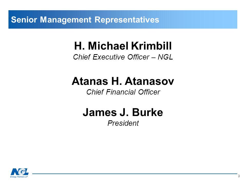 Senior Management Representatives