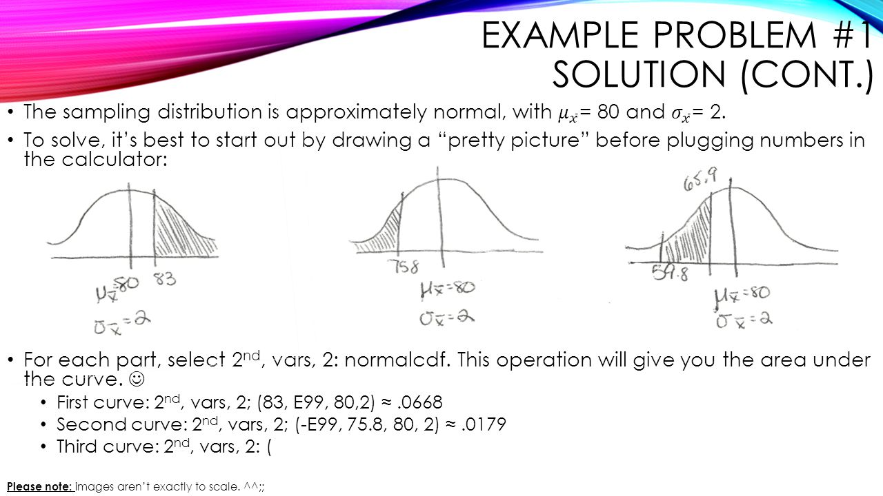 Example Problem #1 Solution (cont.)