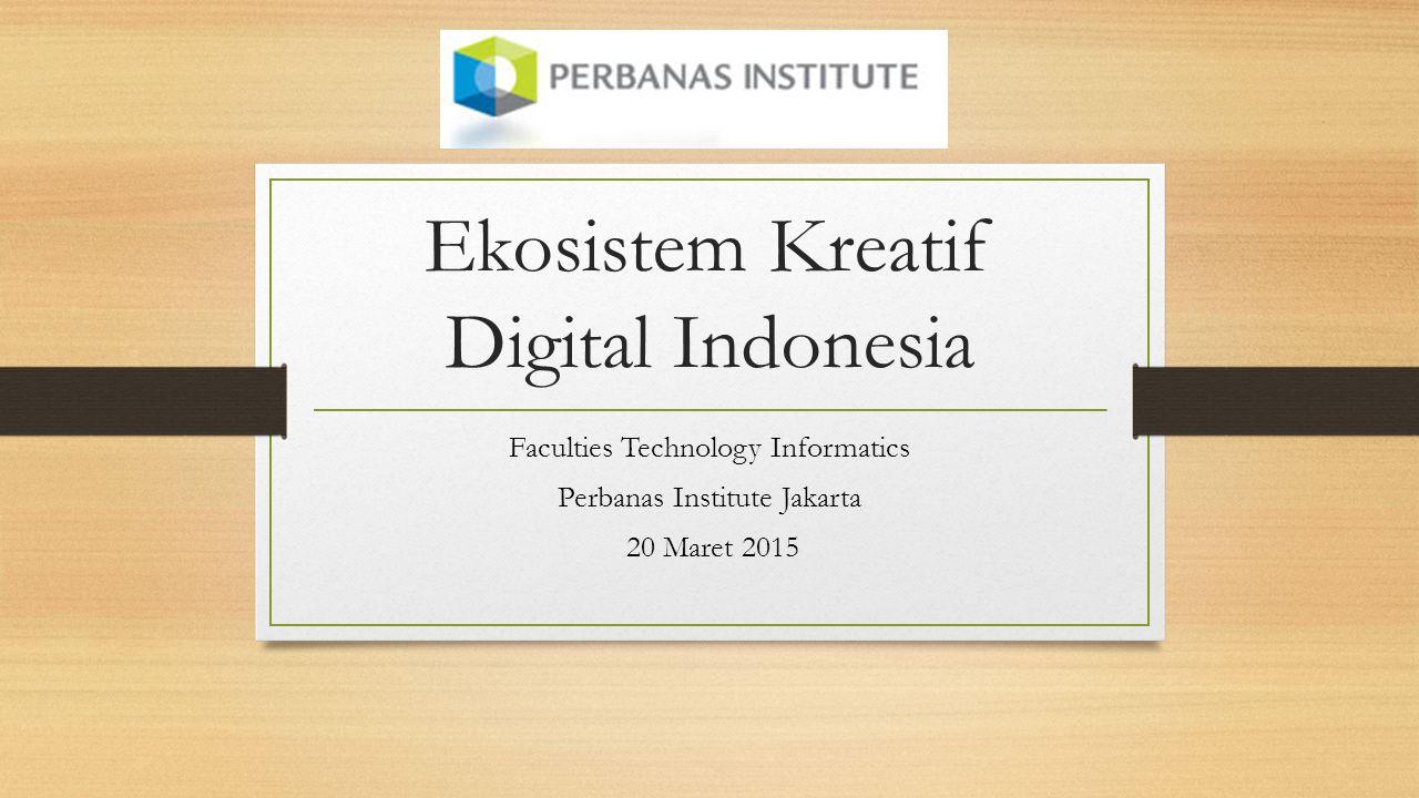 Ekosistem Kreatif Digital Indonesia