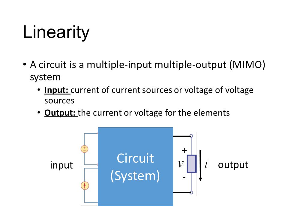 Linearity Circuit (System)