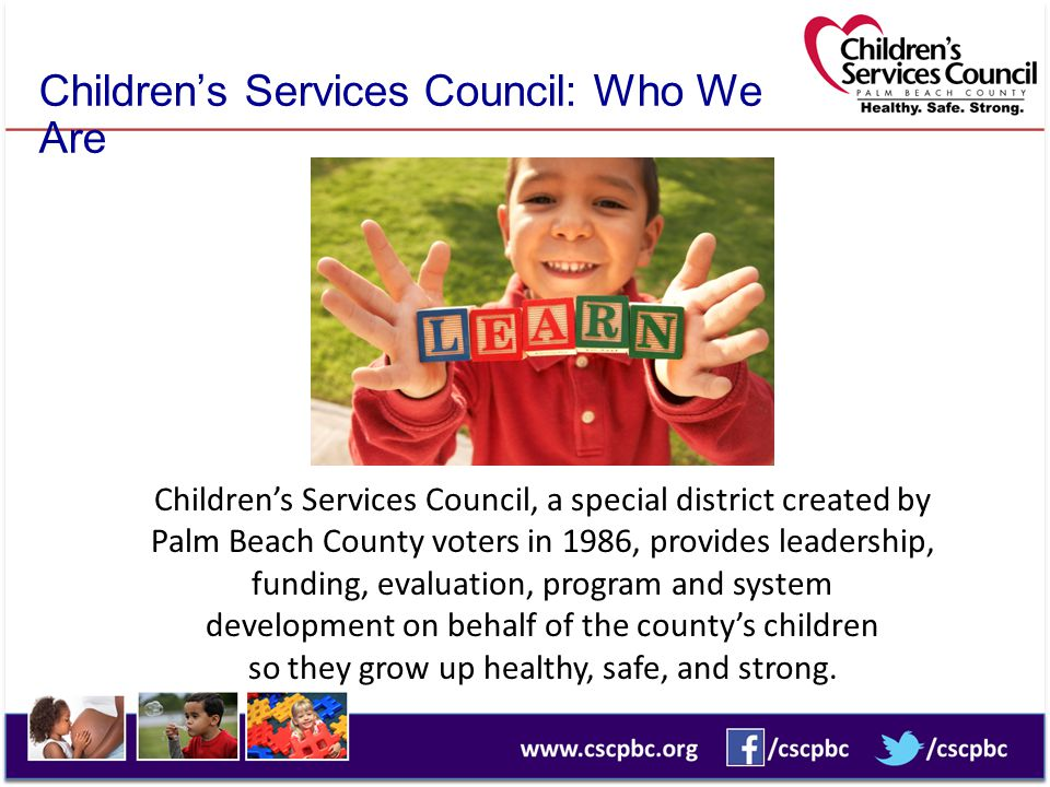 Children's Services Council: Who We Are