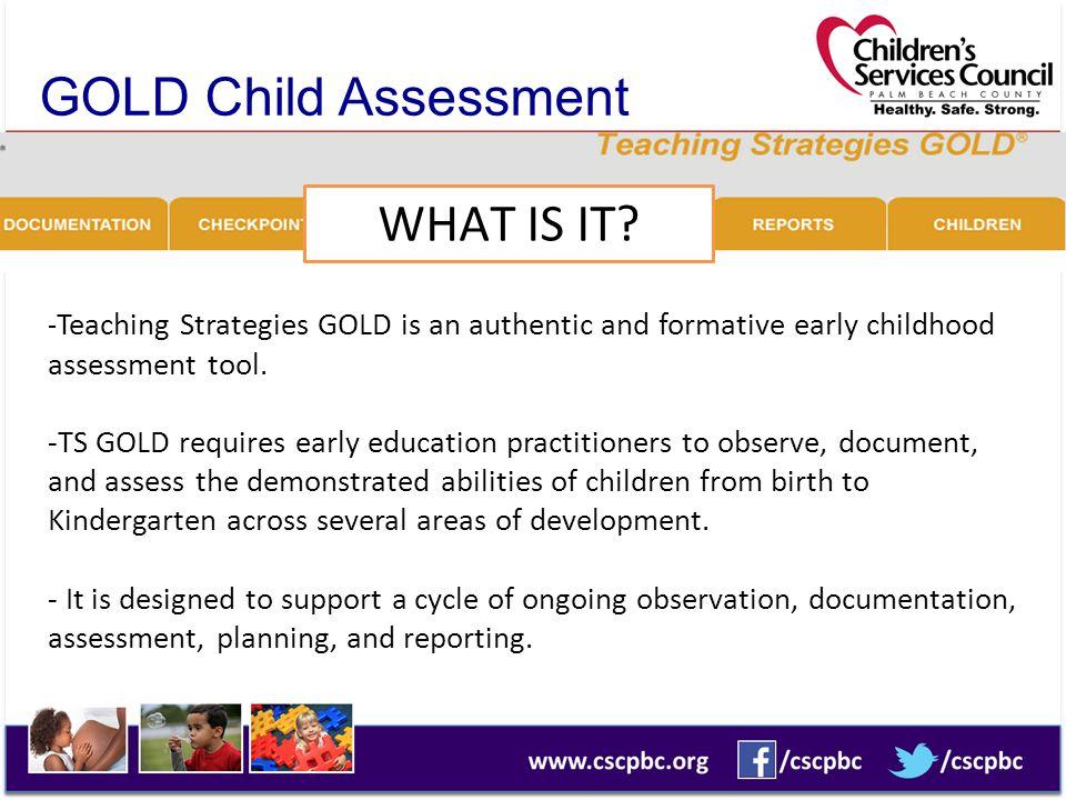 GOLD Child Assessment System