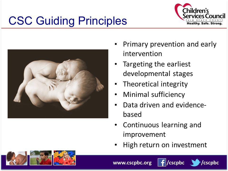 CSC Guiding Principles