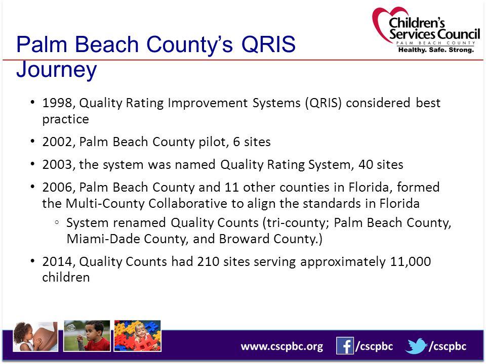 Palm Beach County's QRIS Journey