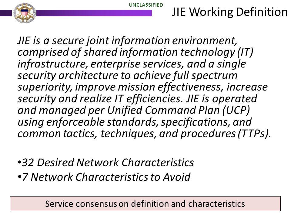 JIE Working Definition