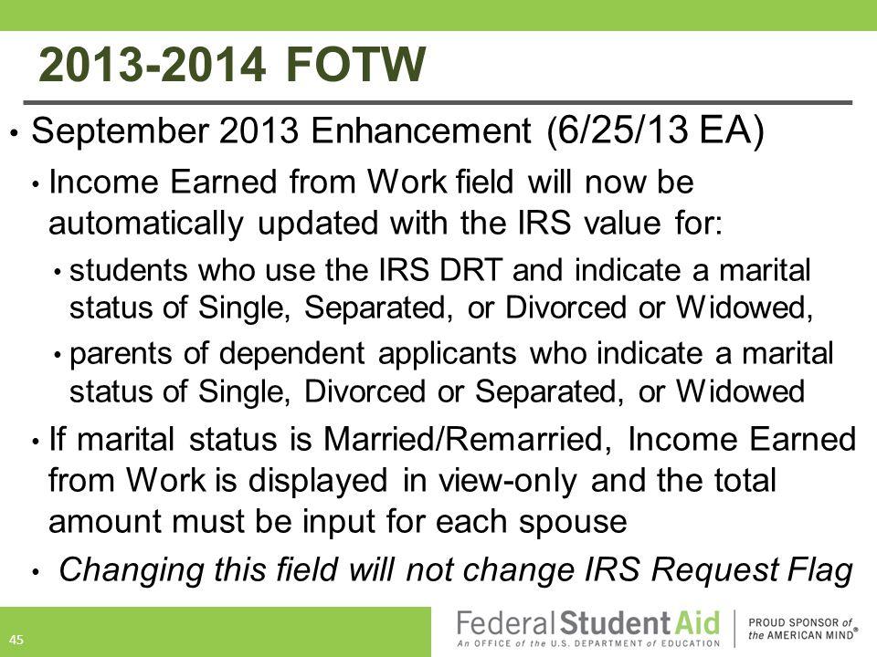 2013-2014 FOTW September 2013 Enhancement (6/25/13 EA)