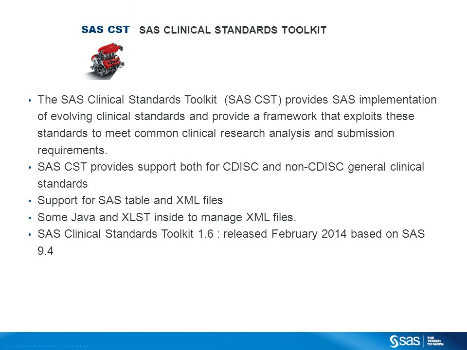 Support for SAS table and XML files