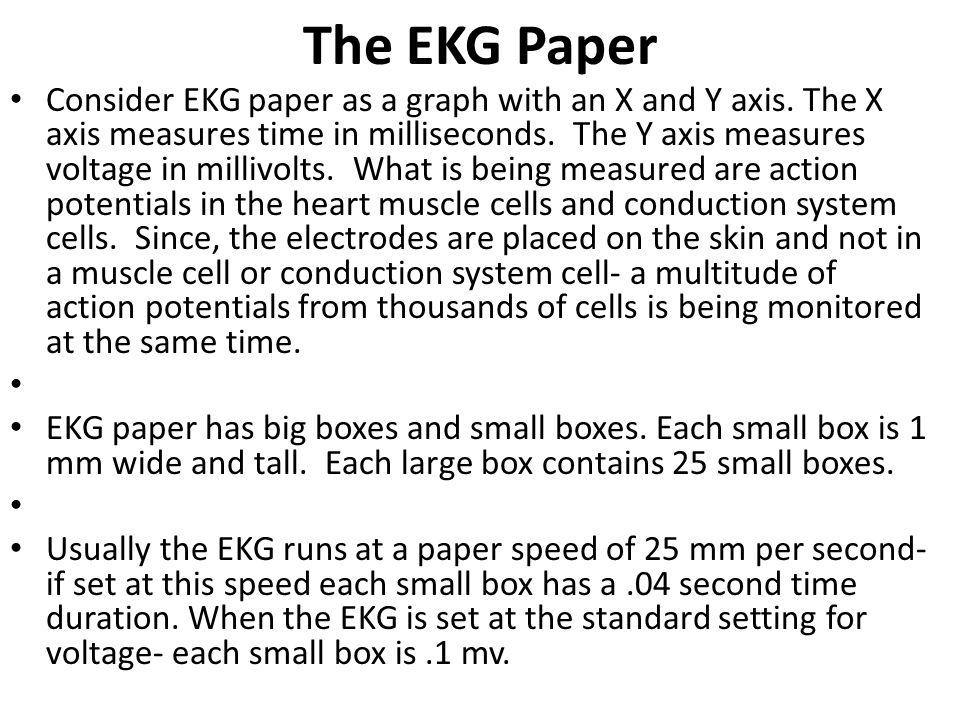The EKG Paper