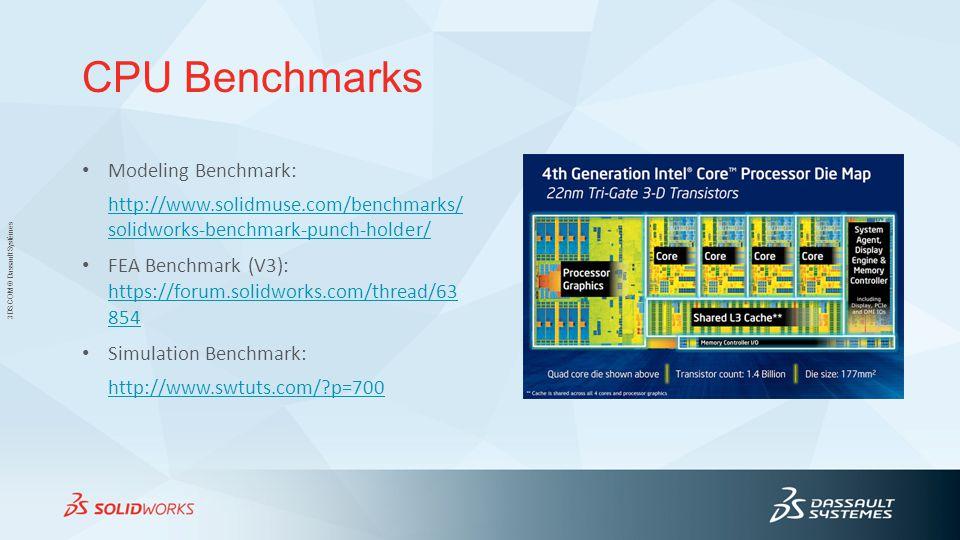 CPU Benchmarks Modeling Benchmark: