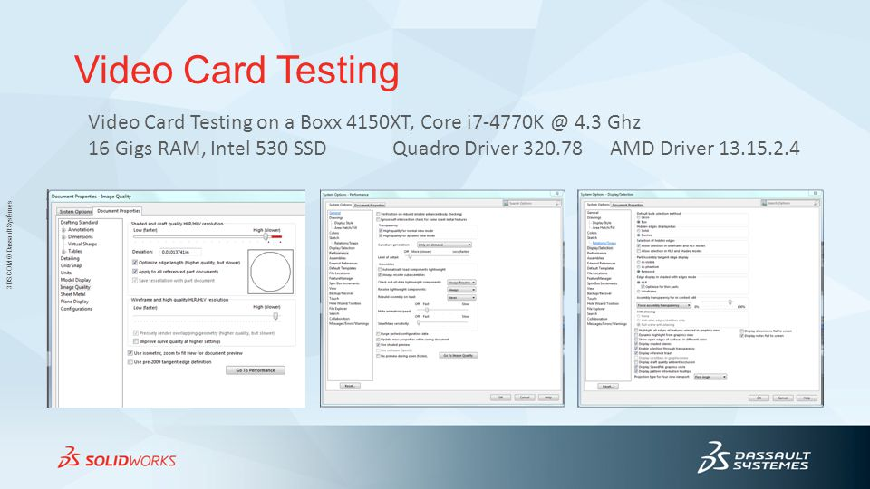 Video Card Testing