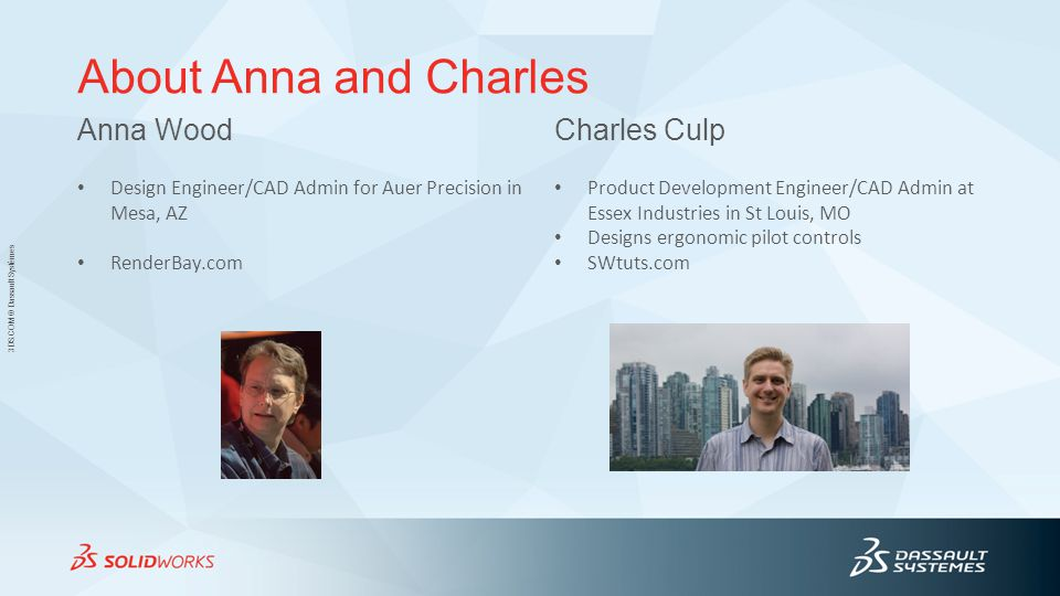 About Anna and Charles Anna Wood Charles Culp
