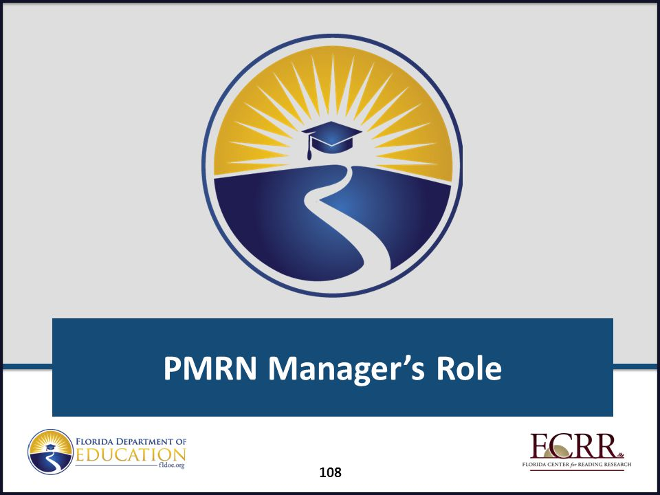 PMRN Manager's Role FAIR-FS Train-the-Trainer July 2014
