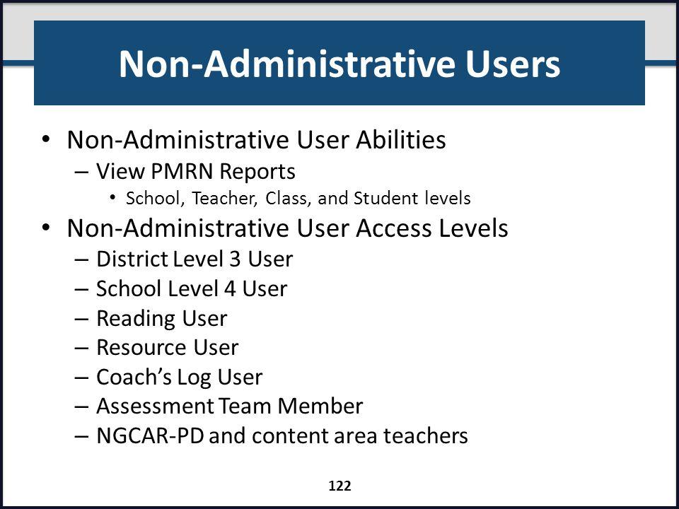 Non-Administrative Users