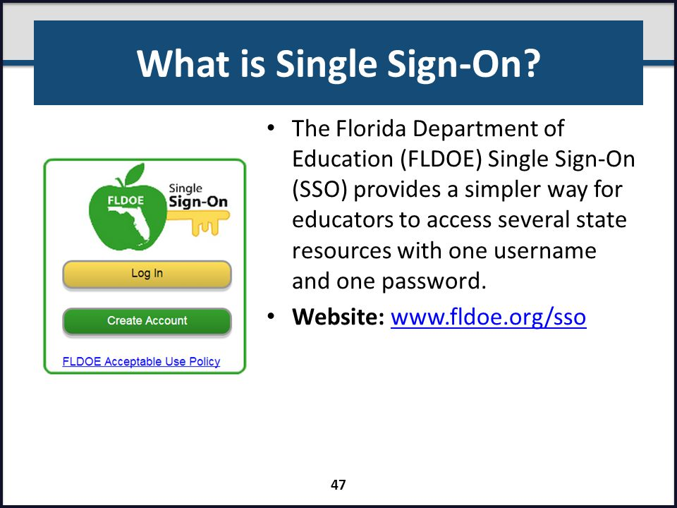 What is Single Sign-On