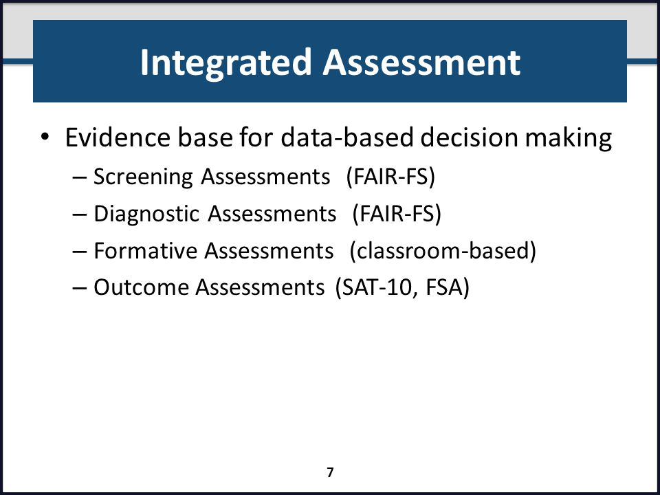 Integrated Assessment