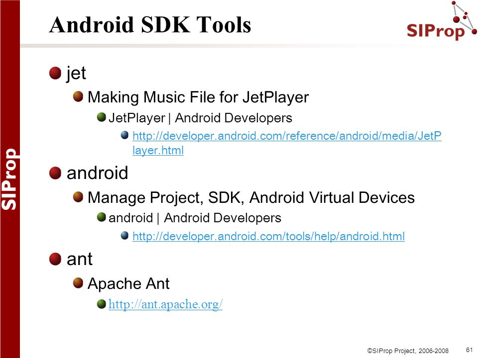 Android SDK Tools jet android ant Making Music File for JetPlayer
