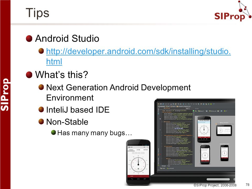 Tips Android Studio What's this