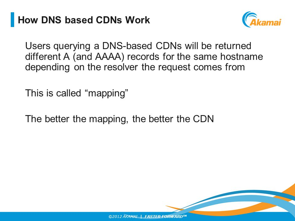 How DNS based CDNs Work