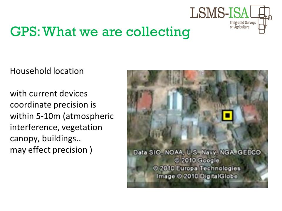GPS: What we are collecting