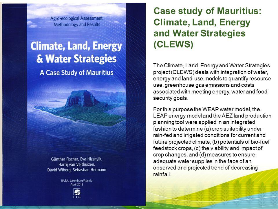 Case study of Mauritius: