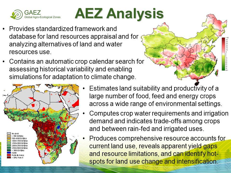 AEZ Analysis
