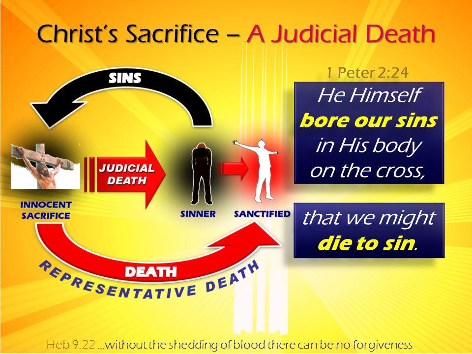 Christ's Sacrifice – A Judicial Death