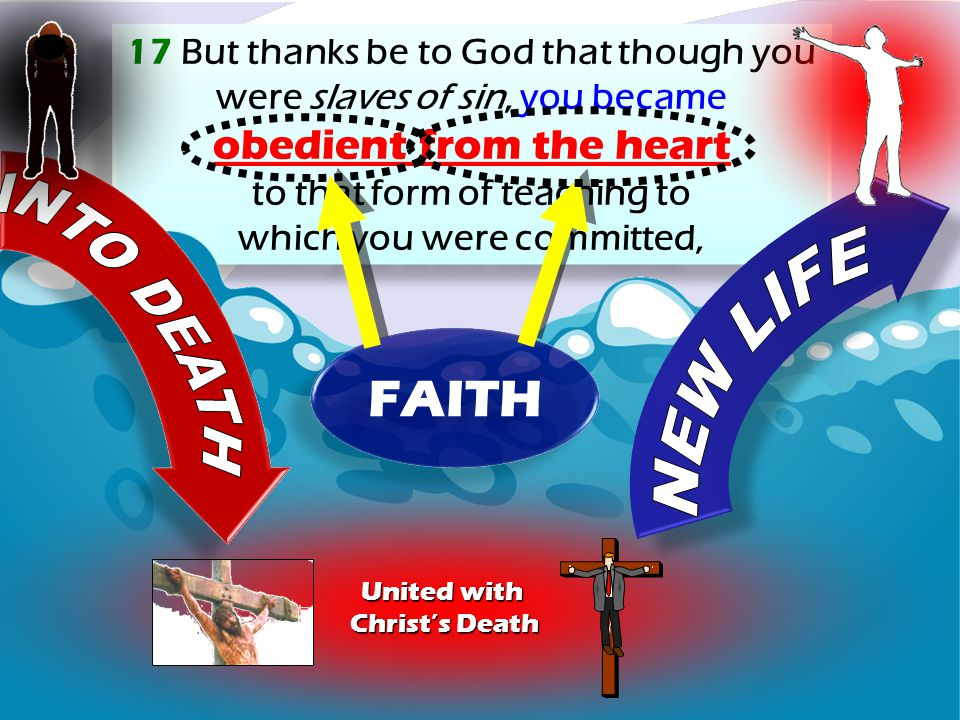 FAITH NEW LIFE obedient from the heart