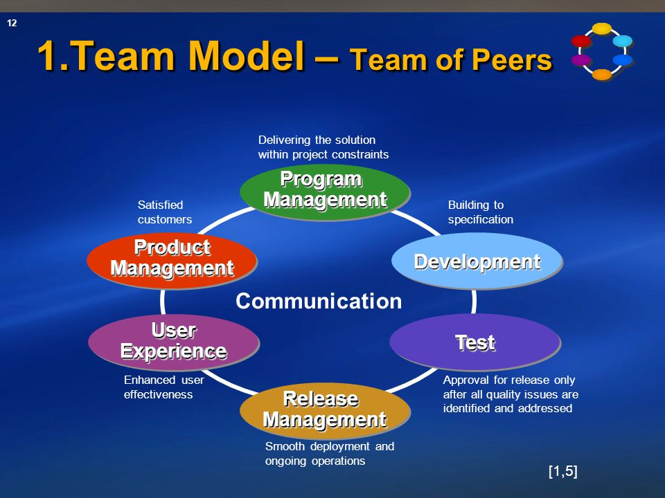 1.Team Model – Team of Peers