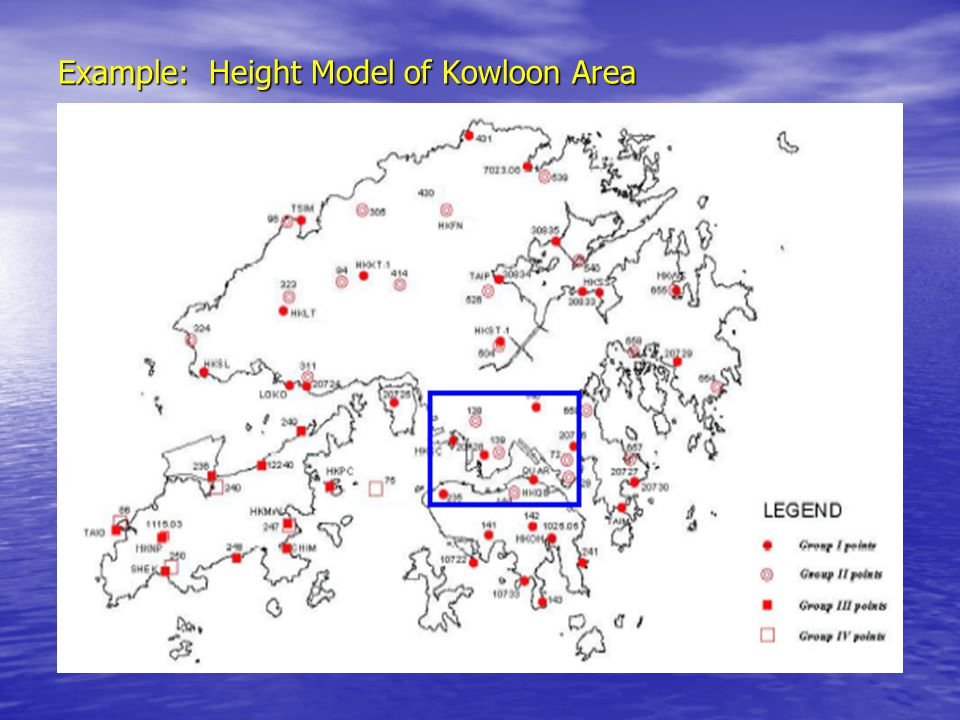 Example: Height Model of Kowloon Area