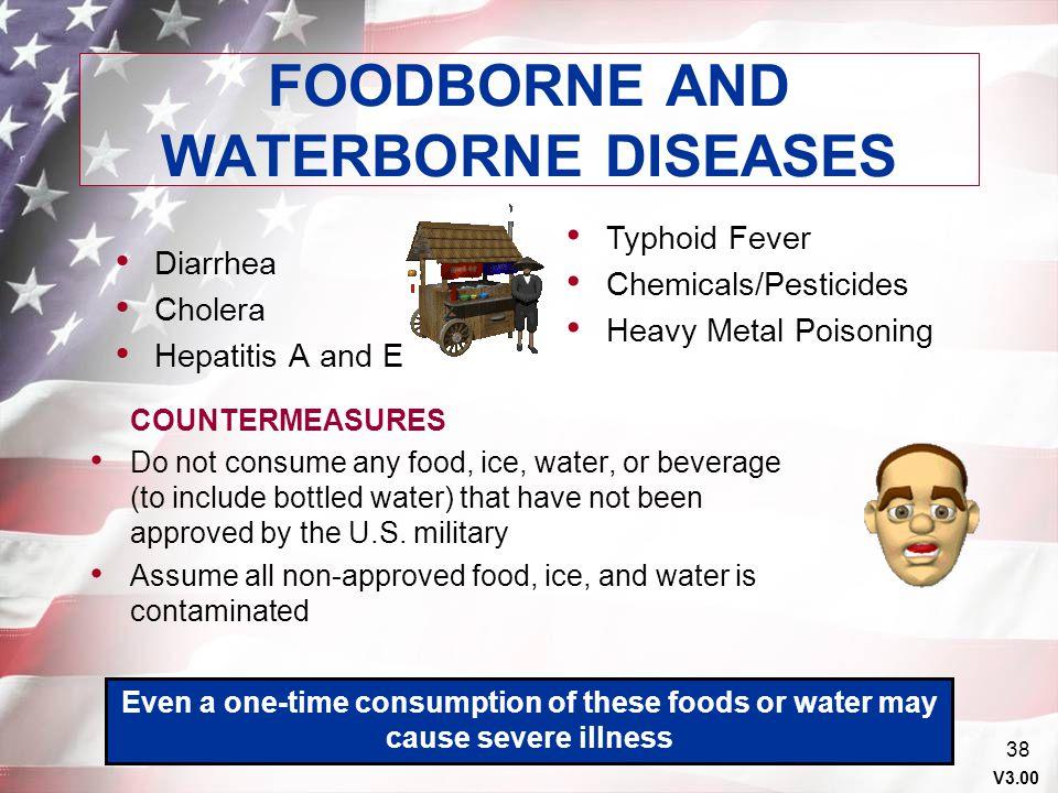 FOODBORNE AND WATERBORNE DISEASES