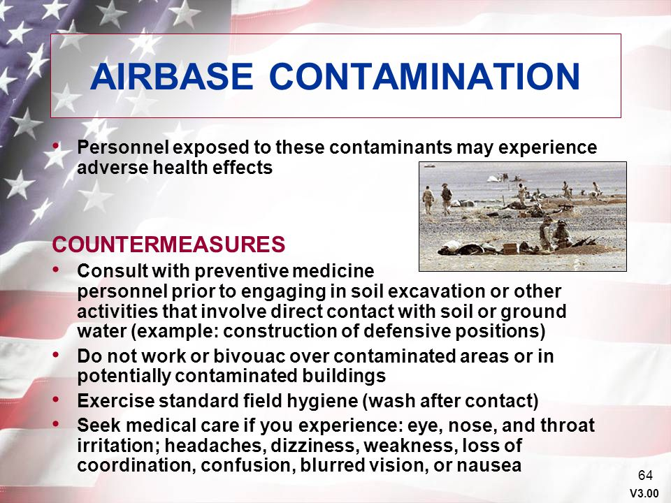 AIRBASE CONTAMINATION