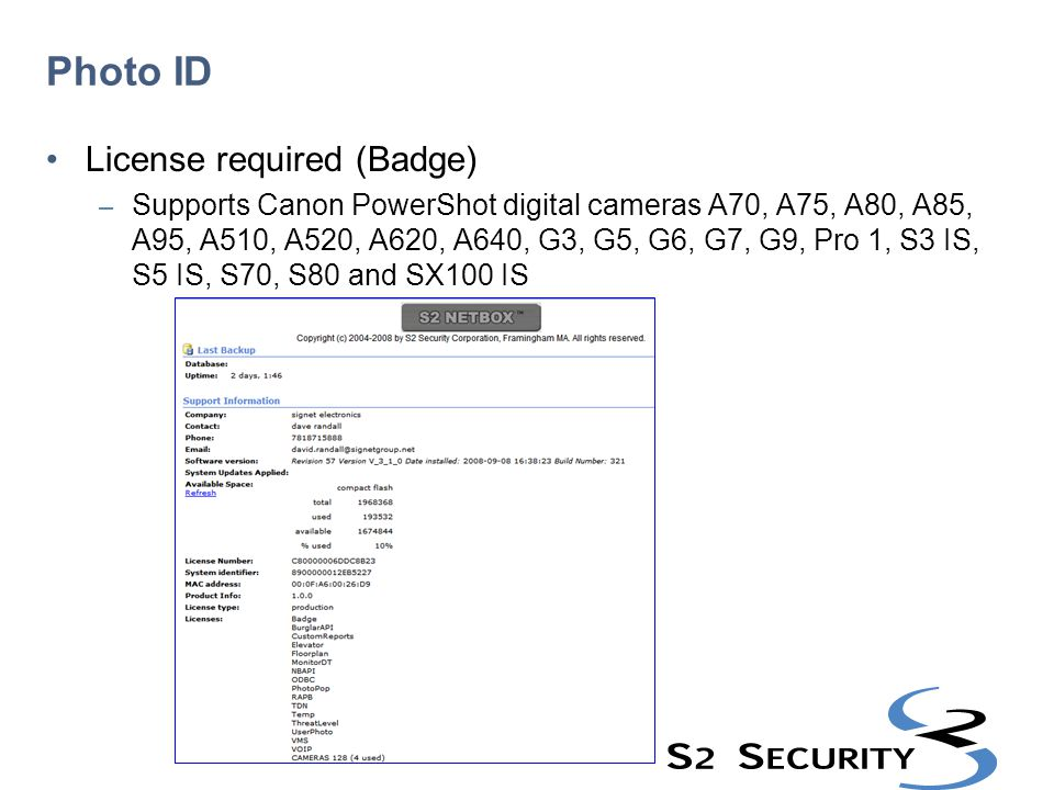 Photo ID License required (Badge)