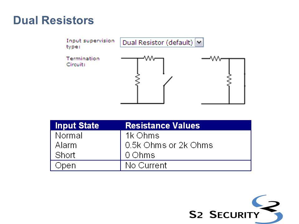 Dual Resistors