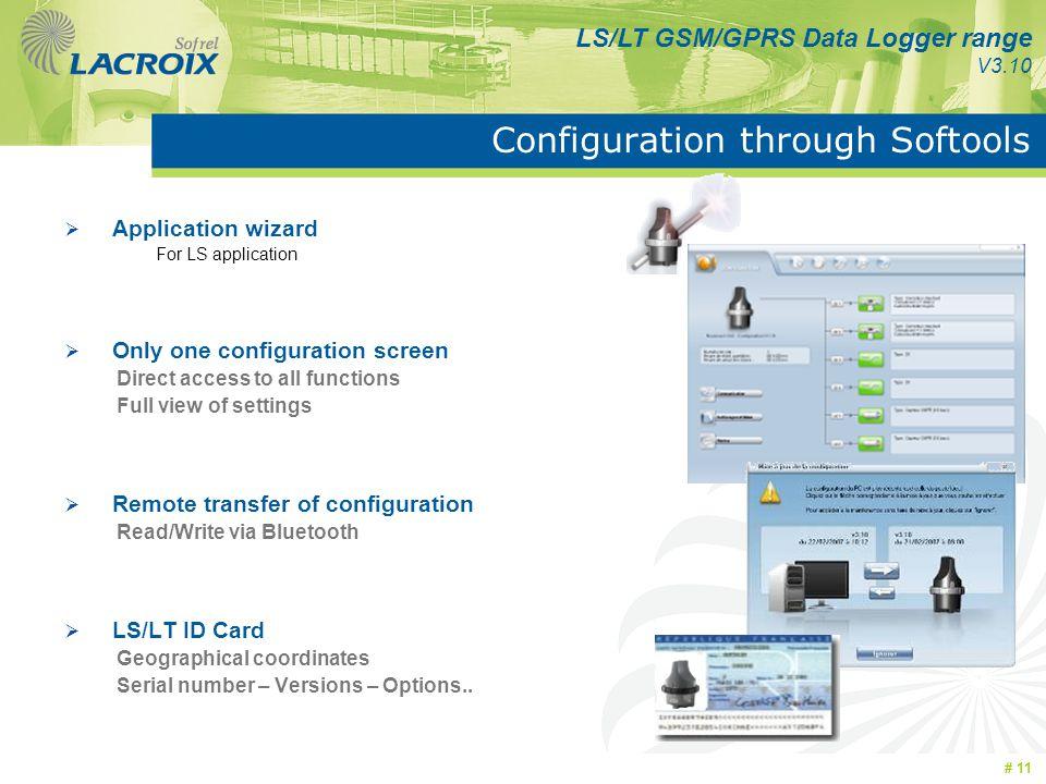 Configuration through Softools