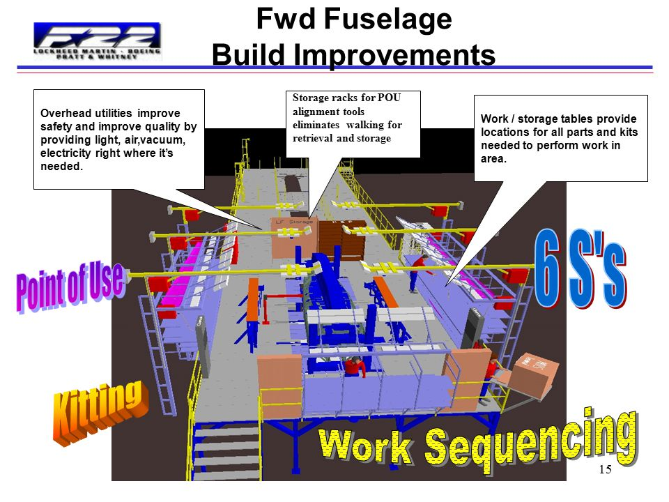Fwd Fuselage Build Improvements
