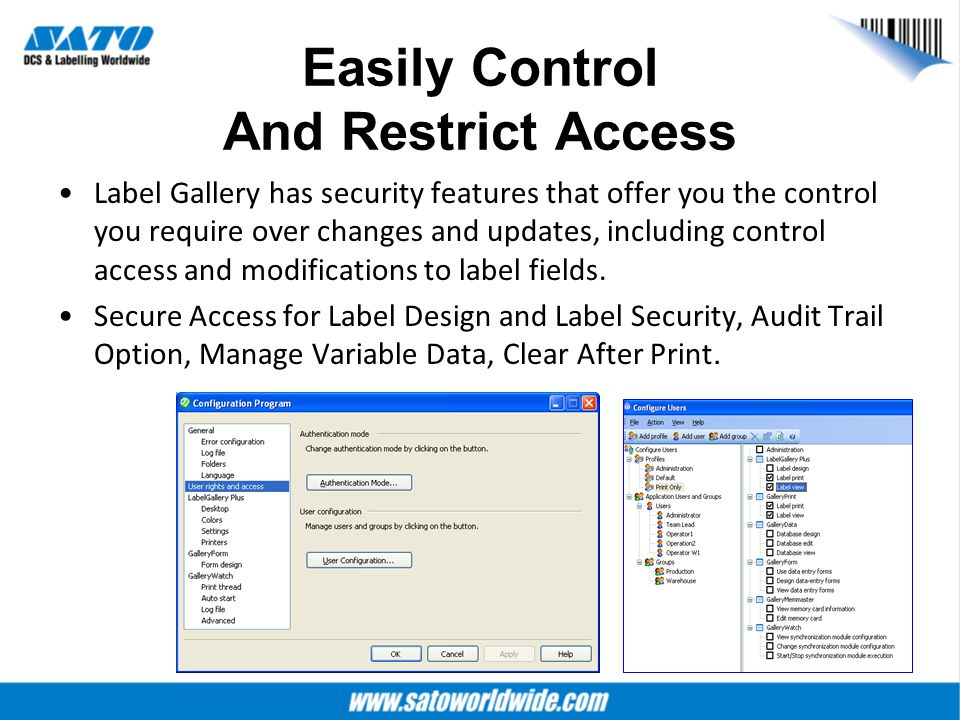 Easily Control And Restrict Access